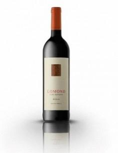 Syrah rødvin fra vingården Lomond, der ligger på den sydligste spids af Sydafrika, kaldet Cape Agulhas.