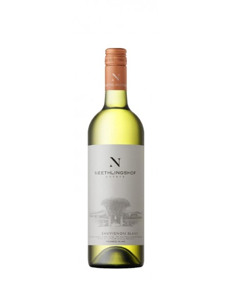 Sauvignon Blanc fra Neethlingshof, Stellenbosch i Sydafrika.